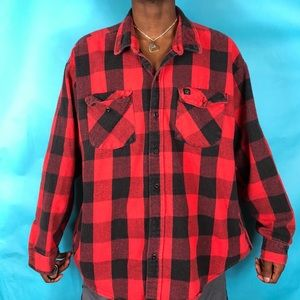 80's Codet Cotton Flannel shirt Made in the USA